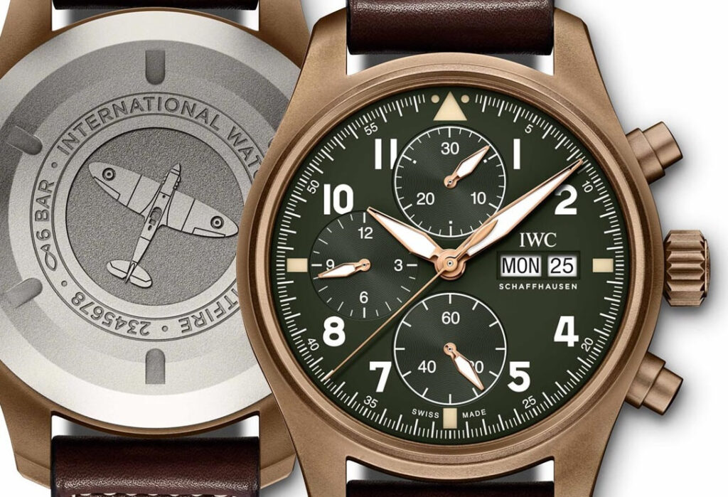 fake IWC Pilot Spitfire Chronograph IW387902